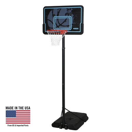 Lifetime Adjustable Portable Basketball Hoop (44-Inch Impact), (Flash Player Archive Page Android 4-4 2)