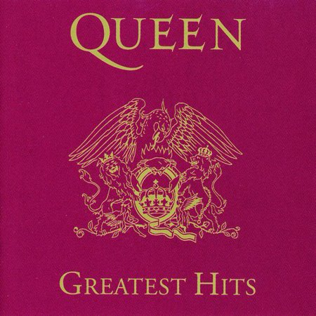 Queen ‎– Greatest Hits (CD) (Led Zeppelin Greatest Hits)