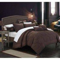 Chic Home 7-Piece Direllei Complete Solid Comforter Set