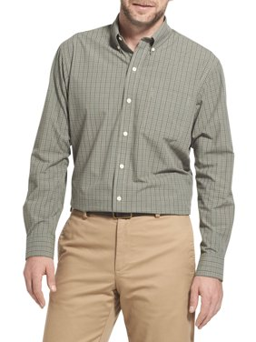 Men's Long Sleeve Hamilton Poplin Button Down Shirt