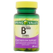 Spring Valley B100 Complex Timed Release Tablets, 60 Ct