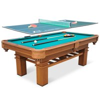 """EastPoint Sports 87"""" Sinclair Billiard Pool Table with Table Tennis Top"""