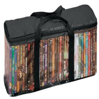 DVD Storage Case with 2 Dividers