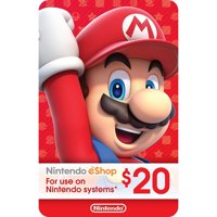 eCash - Nintendo eShop Gift Card $20 (Email Delivery)