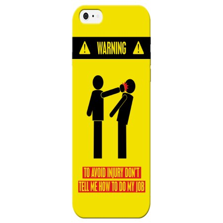 Awg Phone (Warning! Don't Tell Me How To Do My Job Phone Cases For Mechanic Apple Iphone 6 Case By iCandy Products )