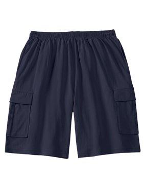 Kingsize Men's Big & Tall Lightweight Cargo Shorts