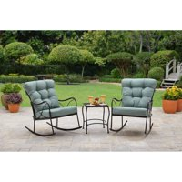 Better Homes and Gardens Seacliff 3 Piece Rocking Chair Bistro Set