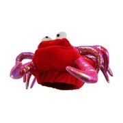 a716cc4f88506 Red Novelty Lobster Crab Seafood Hat Costume Accessory Adult Fish Cap