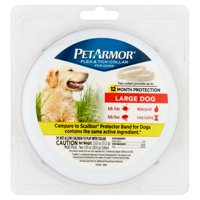 PetArmor Flea & Tick Prevention Collars for Large Dogs, 12 Months Protection