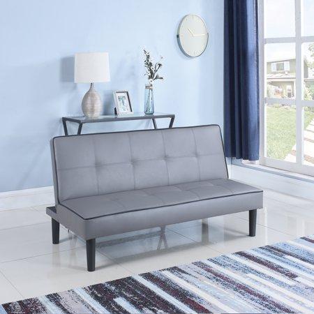 Coaster Company Leatherette Sofa Bed; Two-Tone