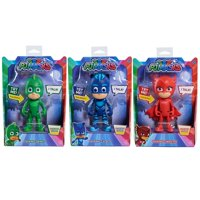 PJ Masks Talking Figure Asst 3pk, including Catboy, Owlette & Gekko