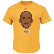 8f5dec4db60 Kobe Bryant Los Angeles Lakers Majestic Emoji T-Shirt - Gold - S