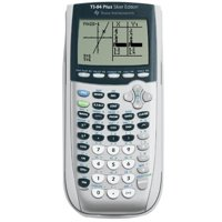 Refurbished Texas Instruments TI-84 Plus Silver Edition Graphing Calculator Silver Handheld Plus