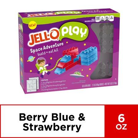 Jell-O Jigglers Trolls Mold Kit, 6 oz Box (Space Snack)