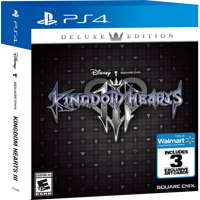 Walmart Exclusive: Kingdom Hearts 3 Deluxe Edition, Square Enix, PlayStation 4, 662248921914
