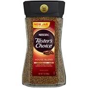 NESCAFE TASTER'S CHOICE House Blend Medium Light Roast Instant Coffee 7 oz. Jar