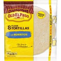 (3 Pack) Old El Paso Flour Tortilla Shells, 8 Ct, 11 oz Box