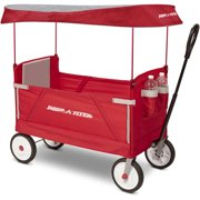 28405fb65 Radio Flyer, 3-in-1 EZ Fold Wagon with Canopy, Seat Belts