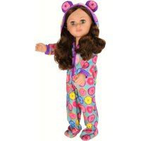 "My Life As 18"" Poseable Sleepover Host Girl Doll, Brunette Hair"