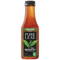 (2 Pack) Pure Leaf Unsweetened Iced Tea, Real Brewed Black Tea, 18.5 Fl Oz, 6 Count