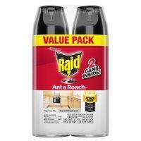 Raid Ant & Roach Killer, Fragrance Free, 17.5 oz, 2 ct