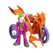 Imaginext DC Super Friends Streets of Gotham City the Joker & Cycle