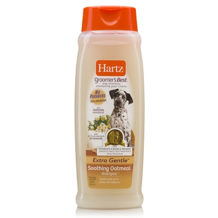 Hartz groomer's best soothing oatmeal dog shampoo, 18-oz (Best Buddy Dog Wash)