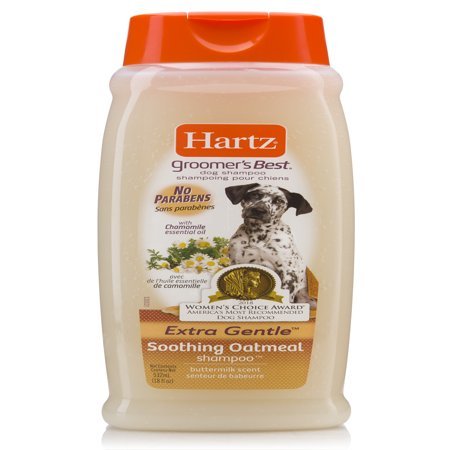 - Hartz groomer's best soothing oatmeal dog shampoo, 18-oz bottle