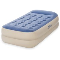 "Intex Twin 18"" Dura-Beam Standard Raised Pillow Rest Airbed Mattress"