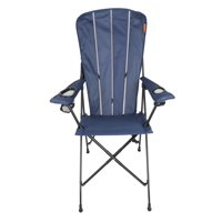 Ozark Trail Adirondack Chair with Two Cup Holders, Blue
