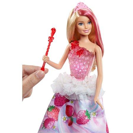 Barbie Dreamtopia Sweetville Blonde Princess Doll with Lights   Sounds -  Walmart.com 45249bcc77