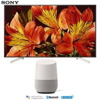 Sony XBR85X850F 85-Inch 4K Ultra HD Smart LED TV (2018 Model) with Google Home (White)