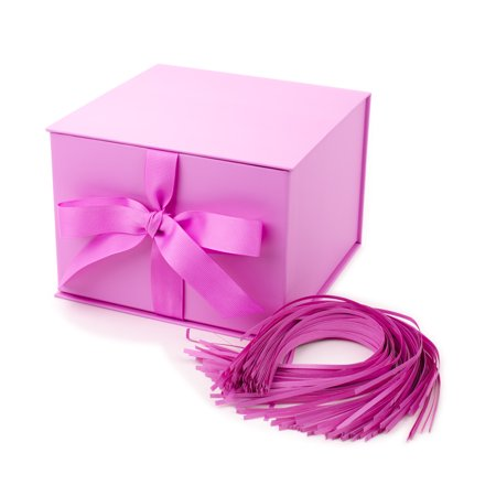 Hallmark Large Solid Color Gift Box (Light Pink) - Gift Wrap Boxes