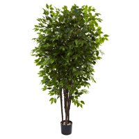 Nearly Natural 6.5-ft. Artificial Deluxe Ficus Tree
