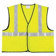 Class II Economy Safety Vests, X-Large, Lime, Sold As 1 Each