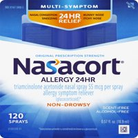 Nasacort Multi-Symptom 24hr Nasal Allergy Relief Spray, 120ct