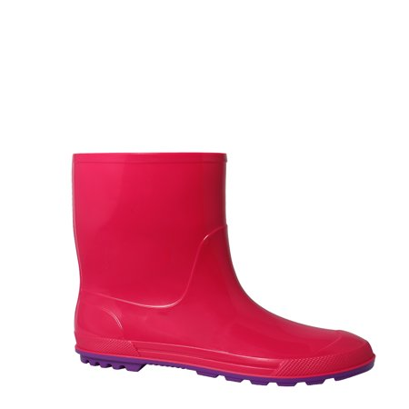Combat Boots Girl (Wonder Nation Toddler Girls' Rain)
