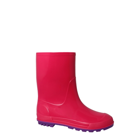 Wonder Nation Toddler Girls' Rain (Girls Fringe Boot)