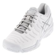 ca5c746e2 women s gel-resolution 7 tennis shoes white and silver