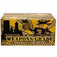 WPN Weapons Grade .68 Caliber Paintballs 2000 Count
