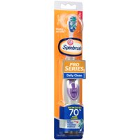 ARM & HAMMER Spinbrush Pro Series Daily Clean Battery Toothbrush, Medium