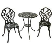 Better Homes and Gardens Tulip 3-Piece Outdoor Bistro Set
