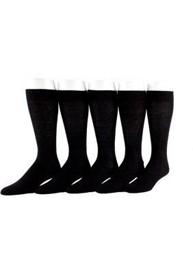 Men's Cotton Flat Knit Value 5 Pack