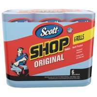Scott Shop Towels, Pack of 6