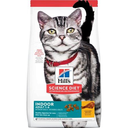 Hill's Science Diet Adult Indoor Chicken Recipe Dry Cat Food, 15.5 lb