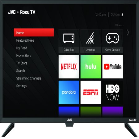 "JVC 43"" Class FHD (1080p) Roku Smart LED TV (LT-43MAW588)"