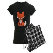 f07f03d2bc CafePress - Fox Pajamas - Women s Dark Pajamas