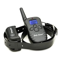 Petrainer PET998DB1 330 Yards Rechargeable Waterproof Electric Dog Shock Training Collar With LCD Remote