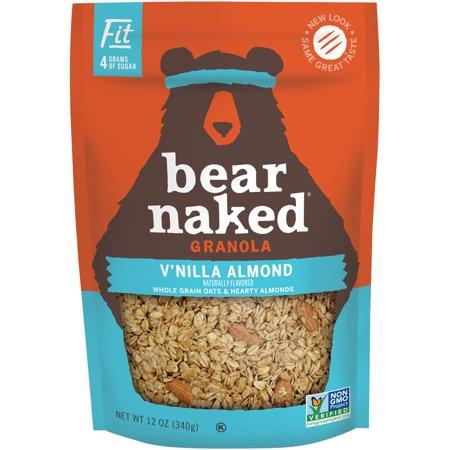 Bear Naked Non-GMO Granola, Vanilla Almond, 12 Oz