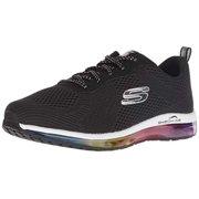 fabfdec9fae Skechers Women's Skech-AIR Element Sneaker, Black/Multi